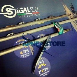 Asta Sigal HRC con pinnette - 7mm doppia