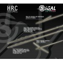 Asta Sigal HRC con pinnette